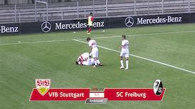Highlights U17: VfB Stuttgart - SC Freiburg