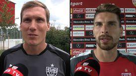 Die Interviews nach dem Spiel gegen Hertha BSC