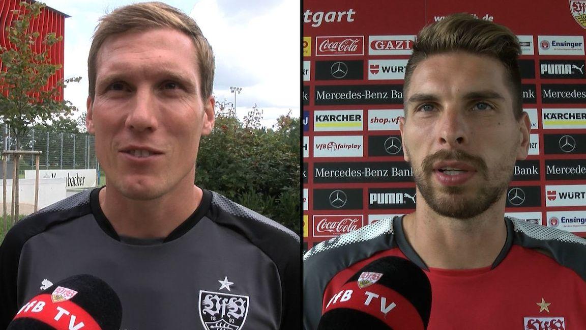 Die Interviews nach dem Spiel gegen Hertha BSC Berlin