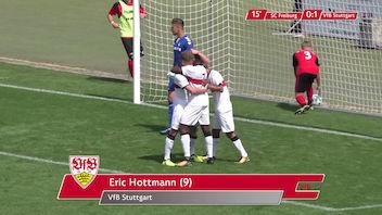 Highlights U19: SC Freiburg - VfB Stuttgart