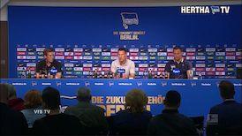 Die PK nach dem Spiel gegen Hertha BSC