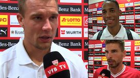 Die Interviews nach VfB - 1. FSV Mainz 05