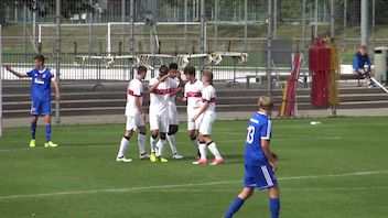 Highlights U17: VfB Stuttgart - SpVgg Unterhaching