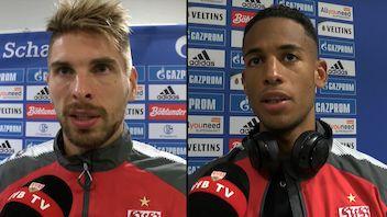 Die Interviews nach dem Schalke-Spiel
