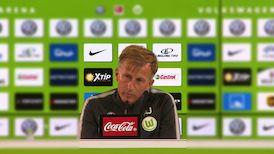 Die Pressekonferenz aus Wolfsburg