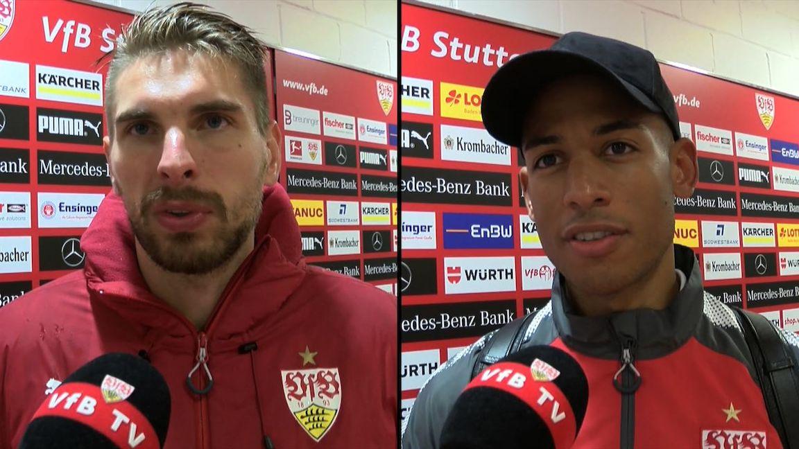 Die Interviews nach dem Wolfsburg-Spiel