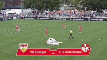 Highlights U19: VfB Stuttgart - 1. FC Kaiserslautern