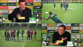 Die Pressekonferenz aus Mönchengladbach