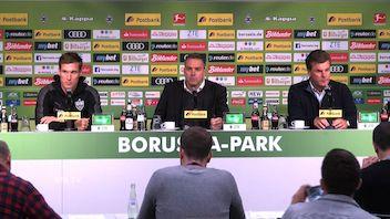 Pressekonferenz: Borussia M'gladbach - VfB Stuttgart