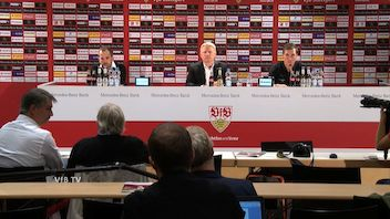 Pressekonferenz: VfB Stuttgart - FC Augsburg