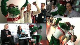 Fritzle zu Gast beim Porsche Tennis Grand Prix