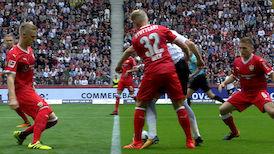 1. Halbzeit: E. Frankfurt - VfB Stuttgart