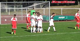 Highlights U17: 1. FSV Mainz 05 - VfB Stuttgart
