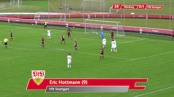Highlights U19: 1. FC Nürnberg - VfB Stuttgart