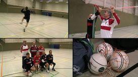 DUNKELROT: Die Faustballer des VfB