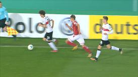 2. Halbzeit: 1.FC K'lautern - VfB Stuttgart