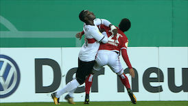 1. Halbzeit: 1.FC K'lautern - VfB Stuttgart