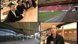 Besichtigungs-Tour durch die Soccer Lounge