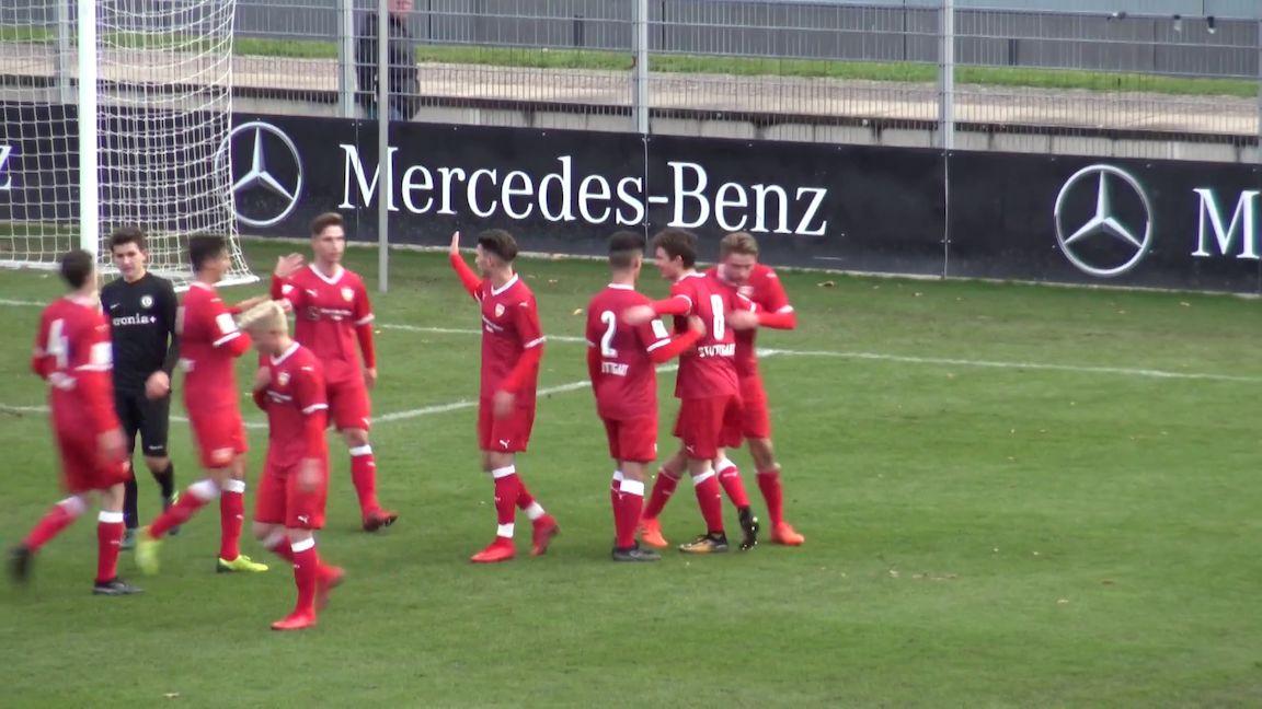 Highlights U17: VfB Stuttgart - SV Elversberg