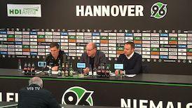 Pressekonferenz: Hannover 96 - VfB Stuttgart