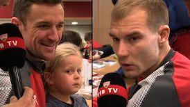 Die Interviews nach dem Spiel in Hannover