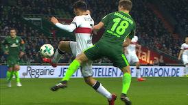 2. Halbzeit: Werder Bremen - VfB Stuttgart