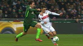 Highlights: Werder Bremen - VfB Stuttgart