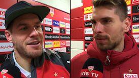 Die Interviews nach dem VfB Spiel gegen Leverkusen