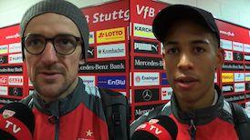 Die Interviews nach dem Spiel gegen Bayern München