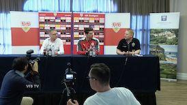VfB Pressekonferenz aus La Manga