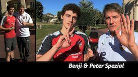 Spezial-Interview: Peter Reichert vs. Benjamin Pavard