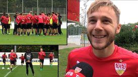 Im Interview: Alexandru Maxim vor dem Fürth-Spiel