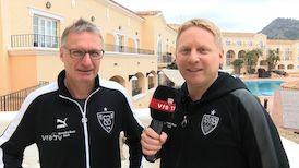 Interview mit VfB Sportvorstand Michael Reschke