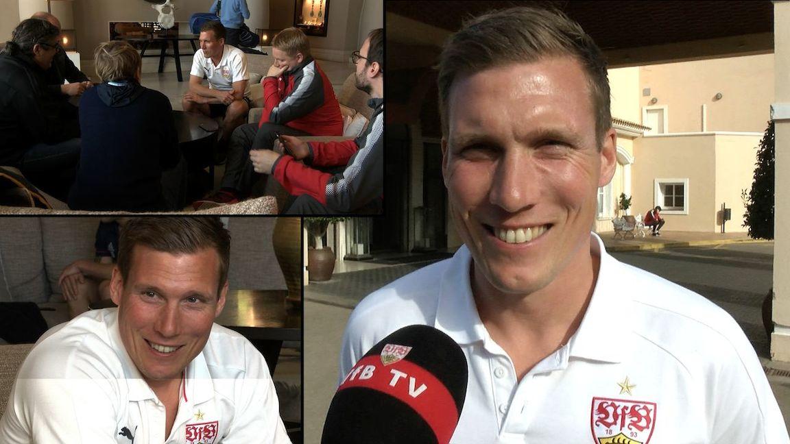 VfB Cheftrainer Hannes Wolf im Interview