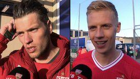Die Interviews nach dem Testspiel gegen den KV Oostende
