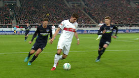 Highlights: VfB Stuttgart - Hertha BSC
