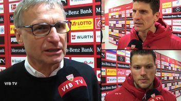 Die Interviews nach dem Spiel gegen Schalke
