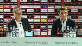 Pressekonferenz zur Vorstellung von Cheftrainer Tayfun Korkut