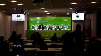 Pressekonferenz: VfL Wolfsburg - VfB Stuttgart