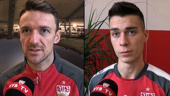 Die Interviews nach dem Spiel in Wolfsburg