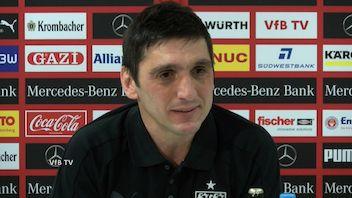 Die Pressekonferenz vor dem Spiel gegen Borussia Mönchengladbach
