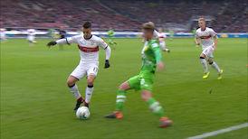 1. Halbzeit: VfB Stuttgart - M'gladbach