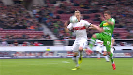 2. Halbzeit: VfB Stuttgart - M'gladbach