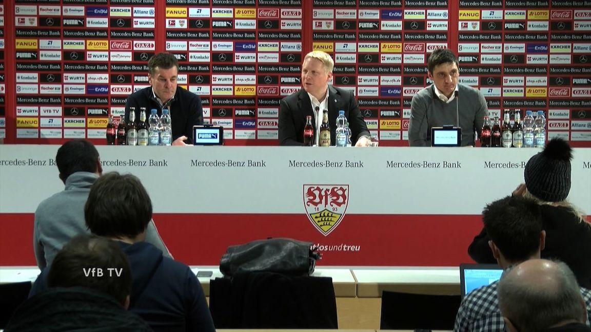Pressekonferenz: VfB Stuttgart - Borussia Mönchengladbach