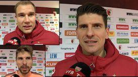 Die Interviews nach dem Auswärtssieg in Augsburg