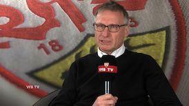 Michael Reschke vor dem Heimspiel gegen Eintracht Frankfurt