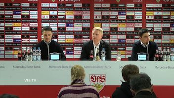 Pressekonferenz: VfB Stuttgart - Eintracht Frankfurt