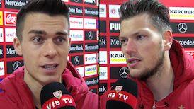 Die Interviews nach dem VfB Heimspiel gegen Frankfurt