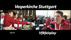 VfBfairplay Aktionstag in der Stuttgarter Vesperkirche