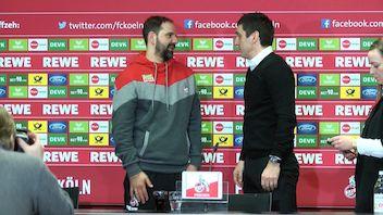 Spieltags-PK: 1. FC Köln - VfB Stuttgart